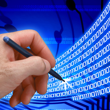 Stock image representing digital signature
