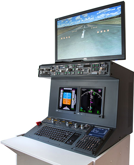 Image of an Airliner1 FMC trainer