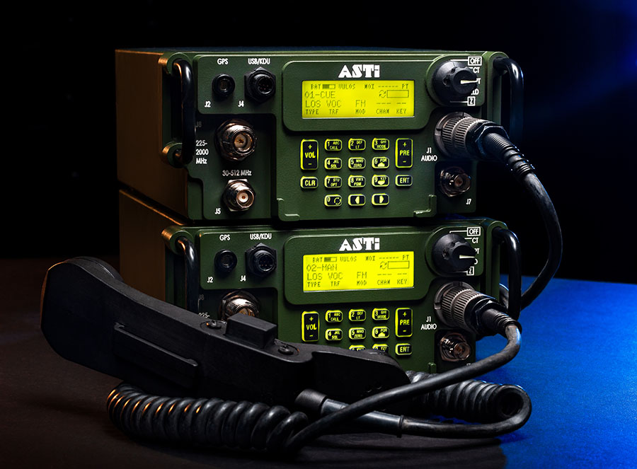 ASTi Ships Simulated AN/PRC-117G Radios for CFFT III