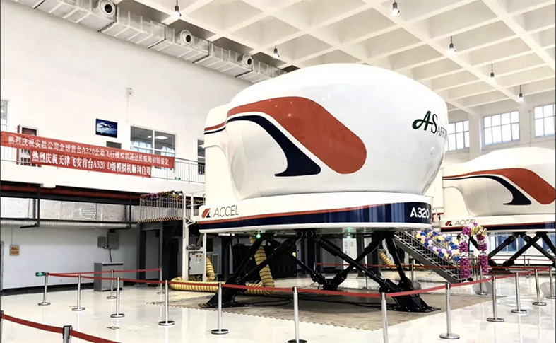 Accel Airbus A320 full-flight simulator