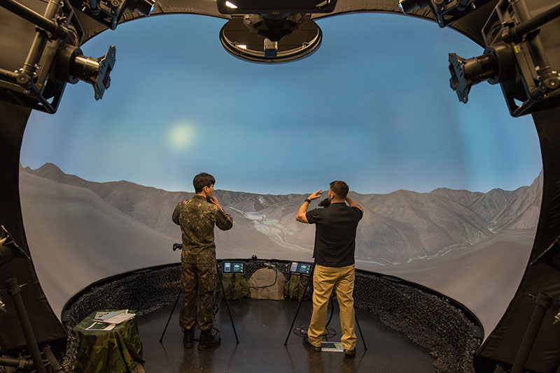 JTAC simulator training by SSgt Ramon Adelan